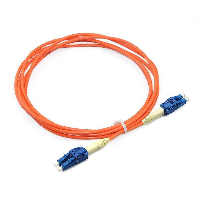 Uniboot LC/UPC to LC/UPC Duplex OS1 SM PVC (OFNR) 3.0mm(1)