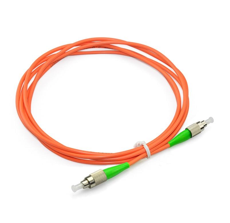 FC/APC to FC/APC Simplex OS1 SM PVC(OFNR) OD3.0mm(1)