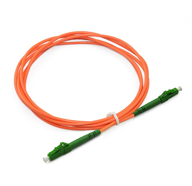 LC/APC to LC/APC Simplex OS1 SM PVC(OFNR) OD2.0mm(1)