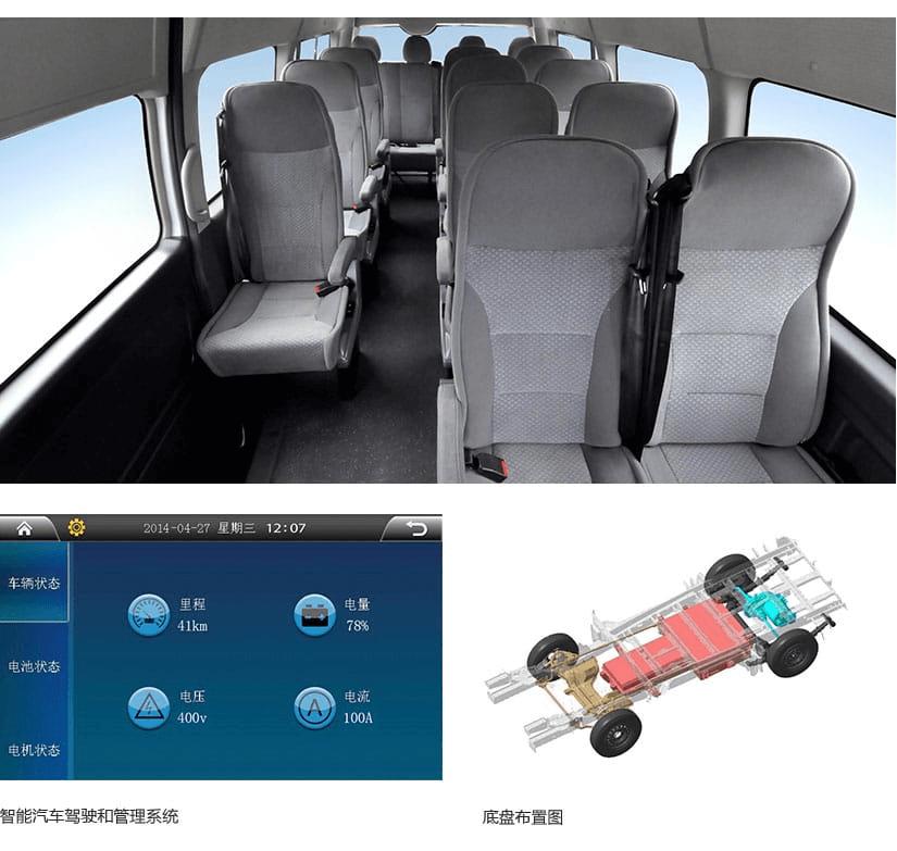 九龙A6E纯电动商务车