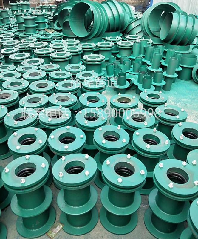 裕隆牌防水套管发往青海尖扎县,为黄南州的水利建设增砖添瓦