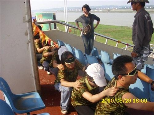 2010年員工活動——岳陽漂流、拓展