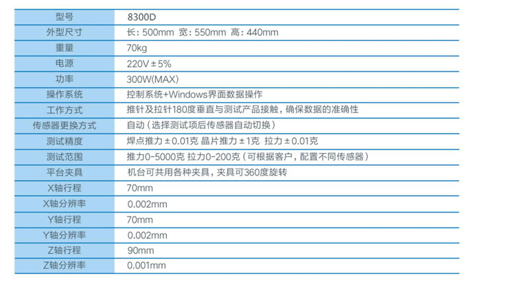 8300D多功能推拉力测试仪