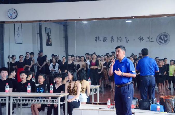 四川舞蹈艺术协会莅临我校组织研修班教学工作