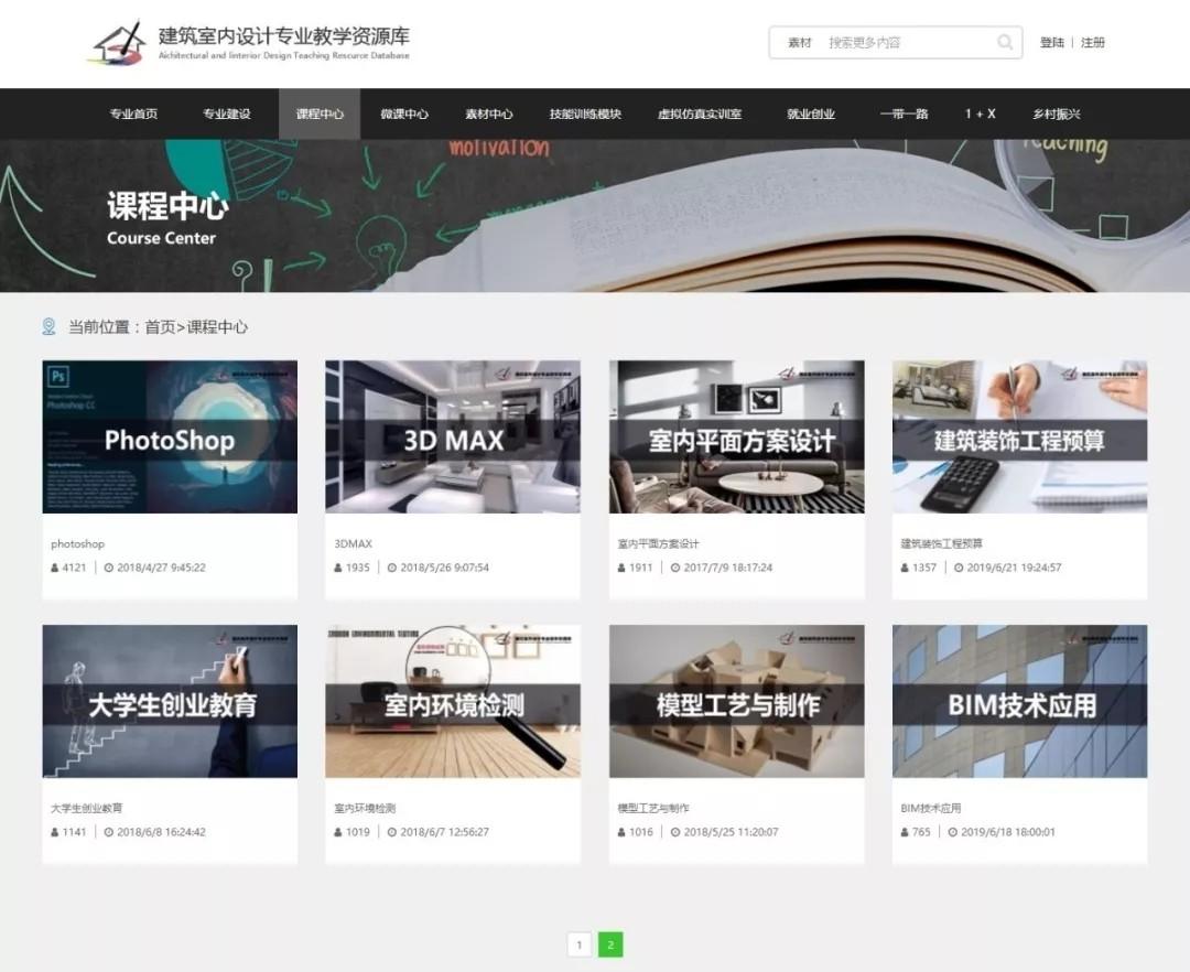 喜讯|襄职ballbet共同申报建筑室内设计项目纳入国家级资源库