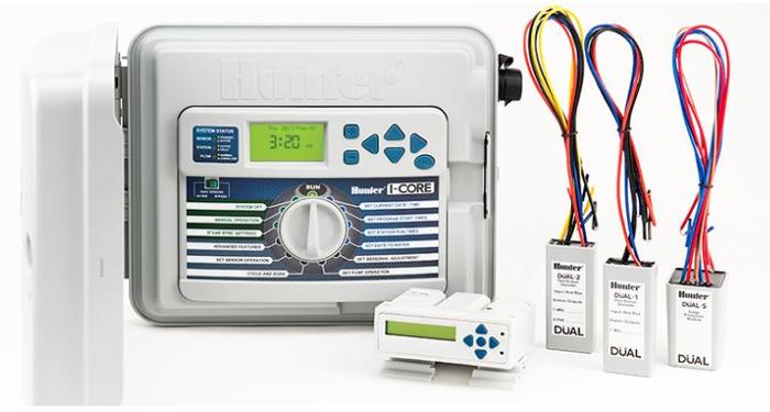 I-Core控制器的两线解码器系统