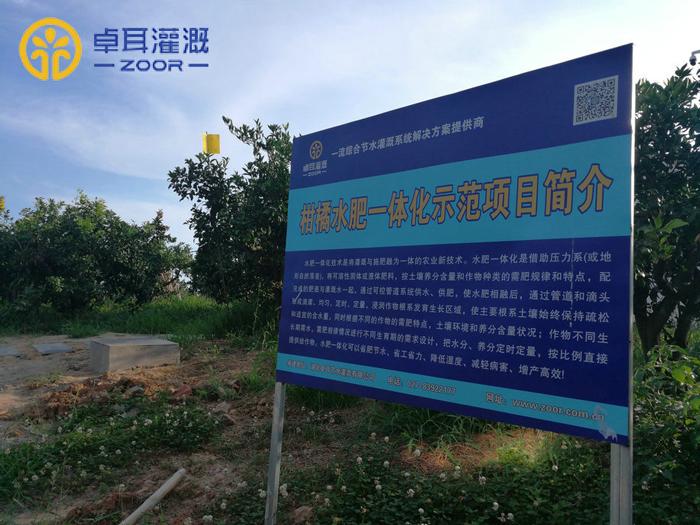 东宝区柑橘水肥一体化示范项目