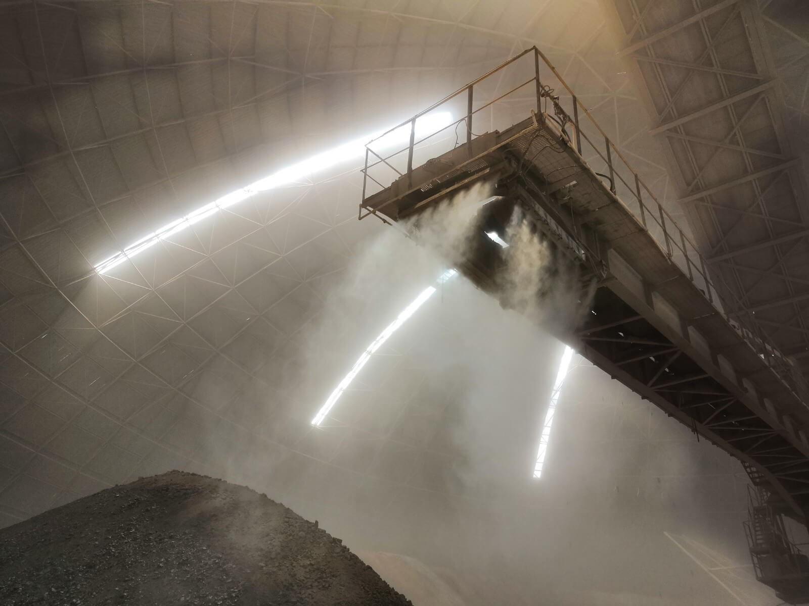 阳泉冀东圆堆生产环境改造项目