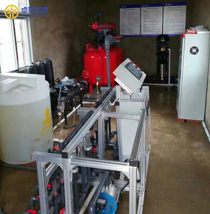 孝南现代农业高标准农田建设项目区智能高效节水灌溉水肥一体化系统工程