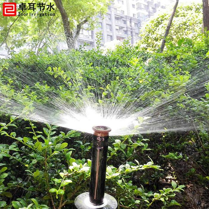 沙湖万达御湖世家景观自动喷灌项目