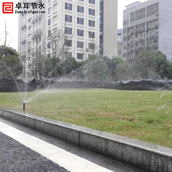 湖北省委大院园林自动喷灌