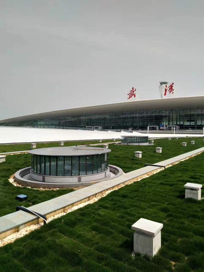 天河机场 T3 航站楼交通指挥中心屋顶绿化自动喷灌