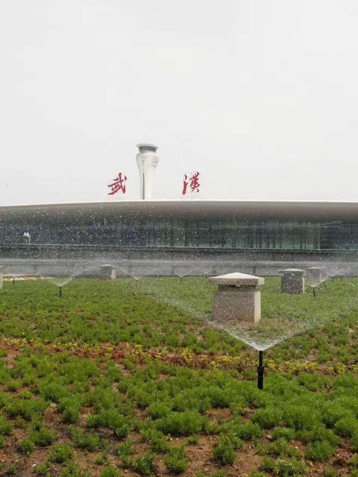 天河機場 T3 航站樓交通指揮中心屋頂綠化自動噴灌