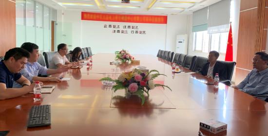 中国计量测试学会马秘书长、东莞市科协吴秘书来访东莞亚博竞猜科技公司