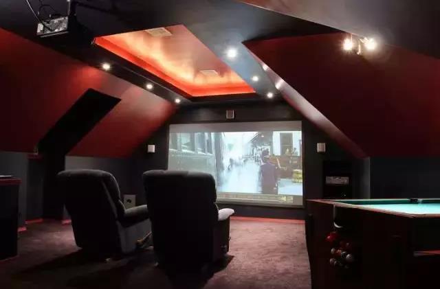 偷偷告诉你家庭影院这么设计 比电影院过瘾!