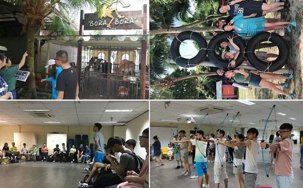新加坡团建拓展活动心得体会