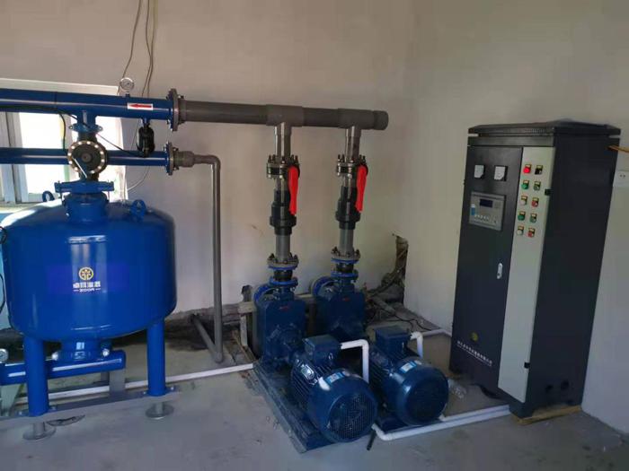 十堰郧西海涛家庭农场水肥一体化泵房首部系统