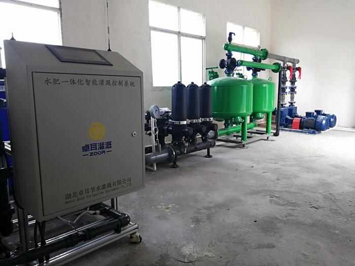 十堰郧阳宇翔生态农场柑橘水肥一体化示范项目