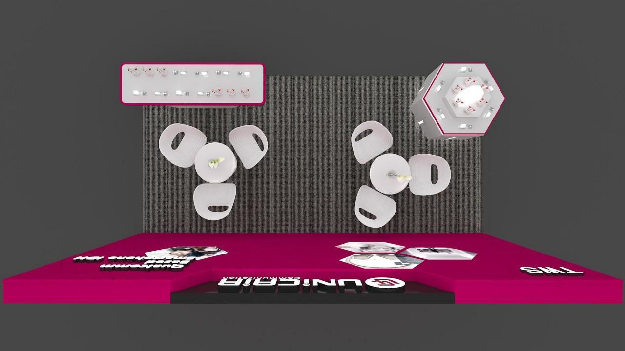 友恺香港电子展设计搭建
