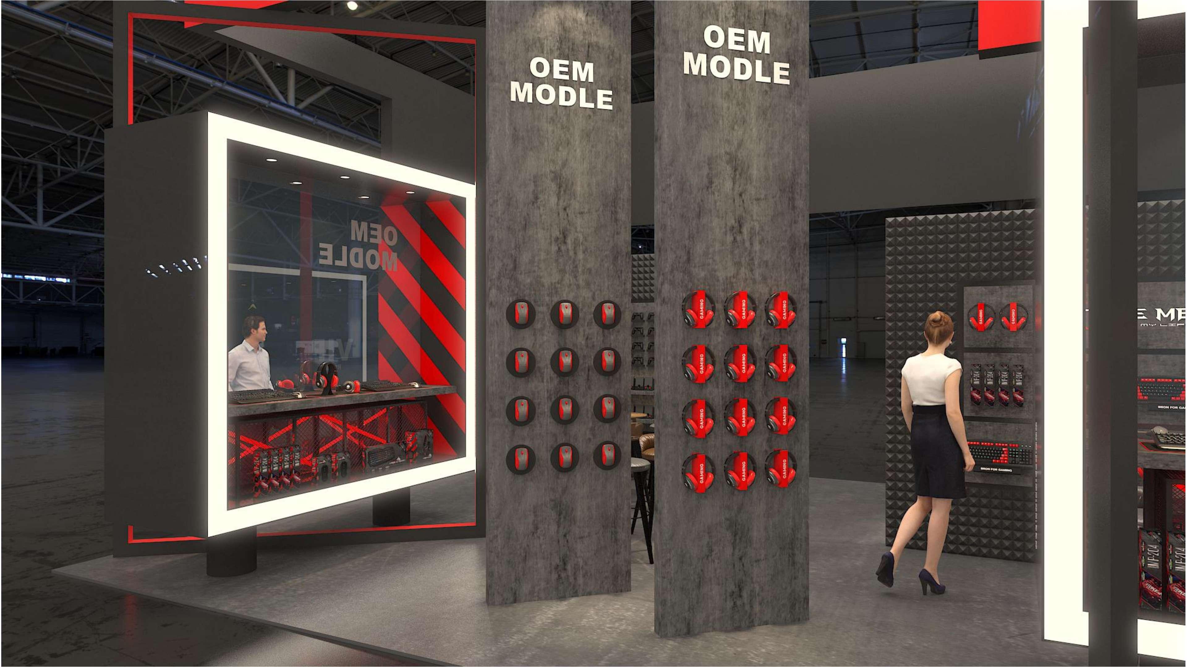 鑫麦可香港电子展设计搭建