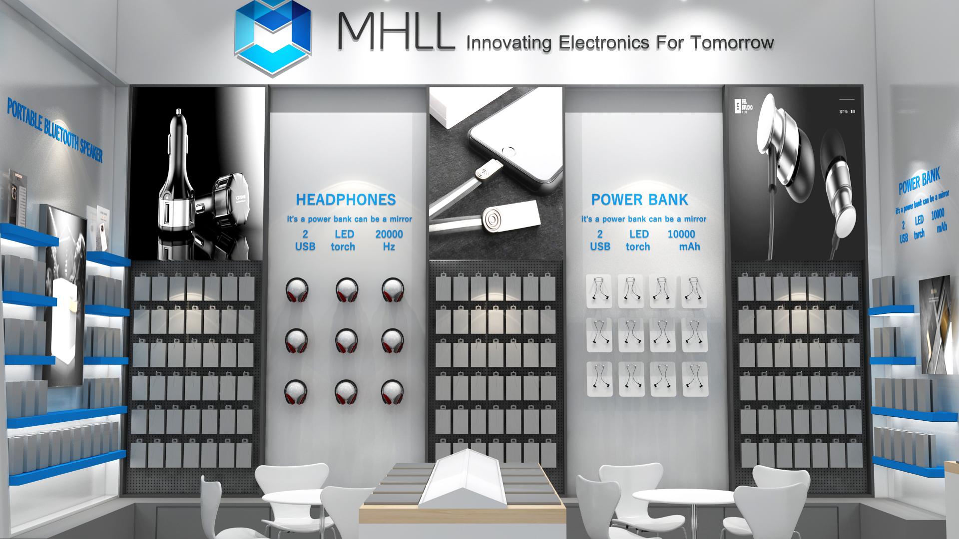 魔幻力量香港电子展设计搭建