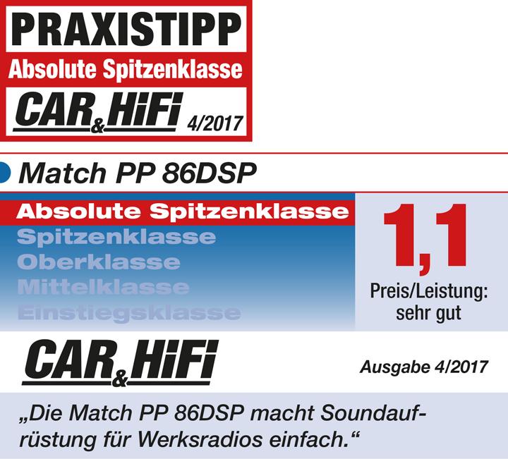 德国MATCH PP 86DSP功放:实力派产品演绎极致靓声