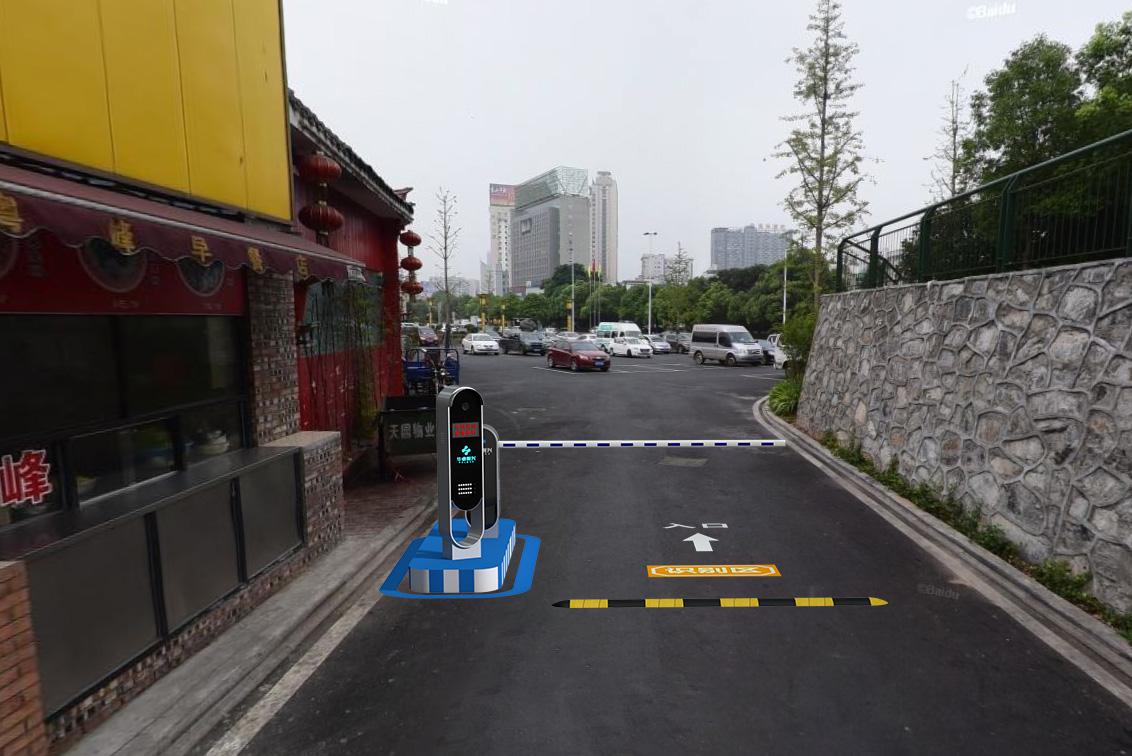 株洲市滨江广场的停车新面貌,用无人值守打造便捷通行!