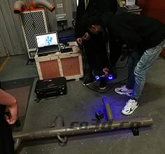 空调管路三维检测