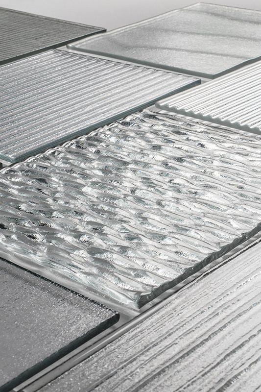近两年突然又流行的玻璃砖材料