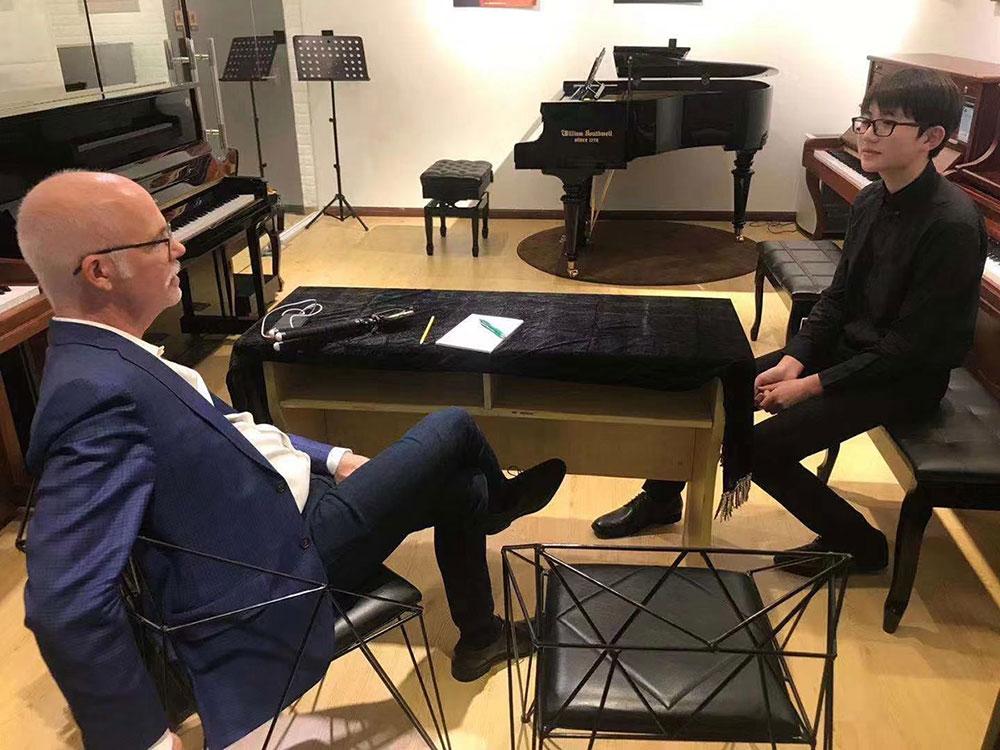 美国加州艾迪怀德艺术高中上海面试咨询会指定用琴—威廉索斯韦尔