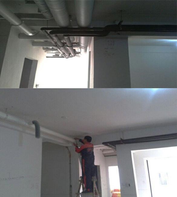 长滩一号别墅区-空气源热泵系统