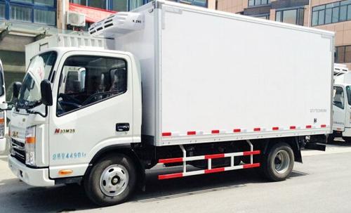 恭喜董先生喜提新能源冷藏车一辆!