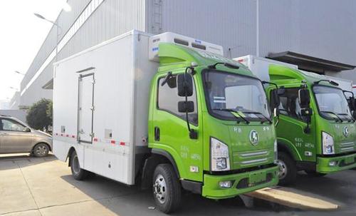 恭喜黄先生喜提新能源冷藏车一辆!
