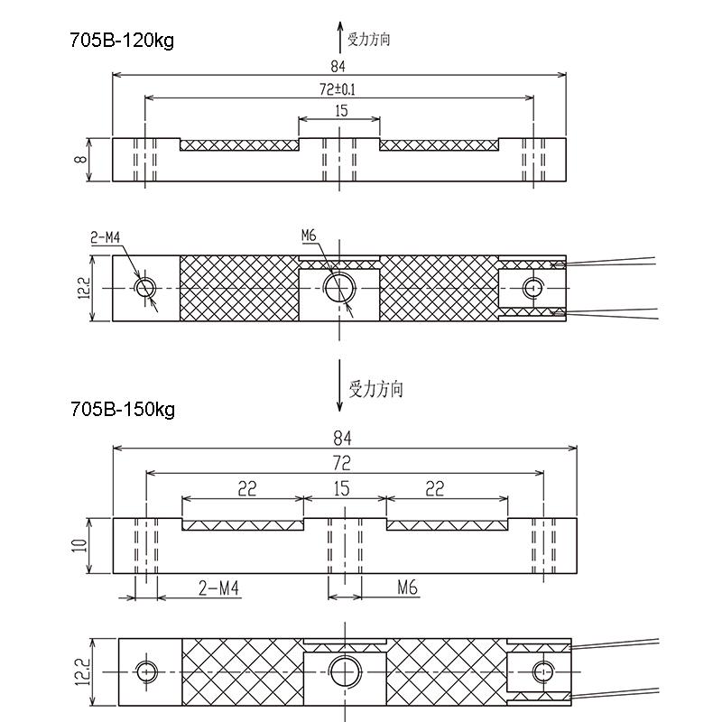 705B测力传感器(型号:705B)