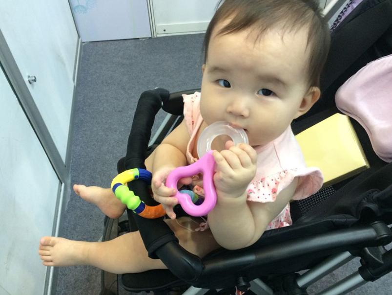 婴童品牌产品展览会展场盛况