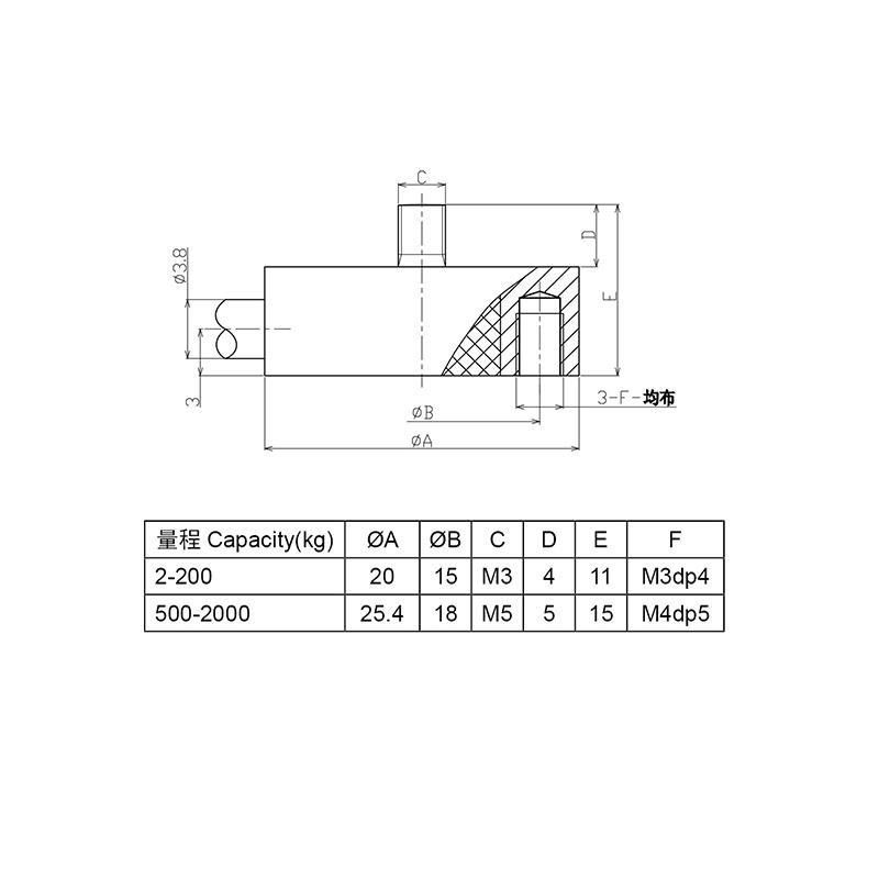 MDS微型测力传感器 (型号:MDS)