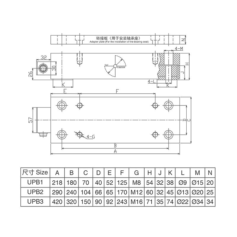 UPB系列张力传感器 (型号:UPB)