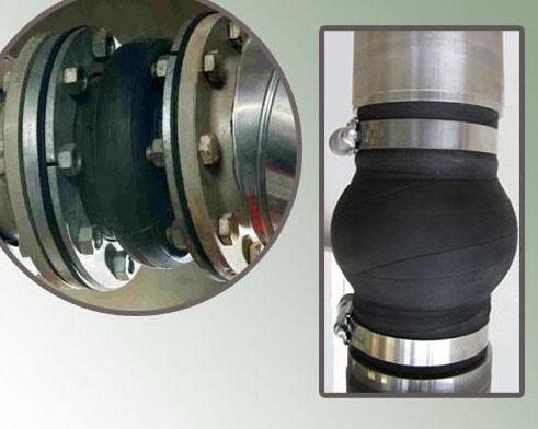 可曲挠橡胶接头在循环水管道安装方法和性能特点