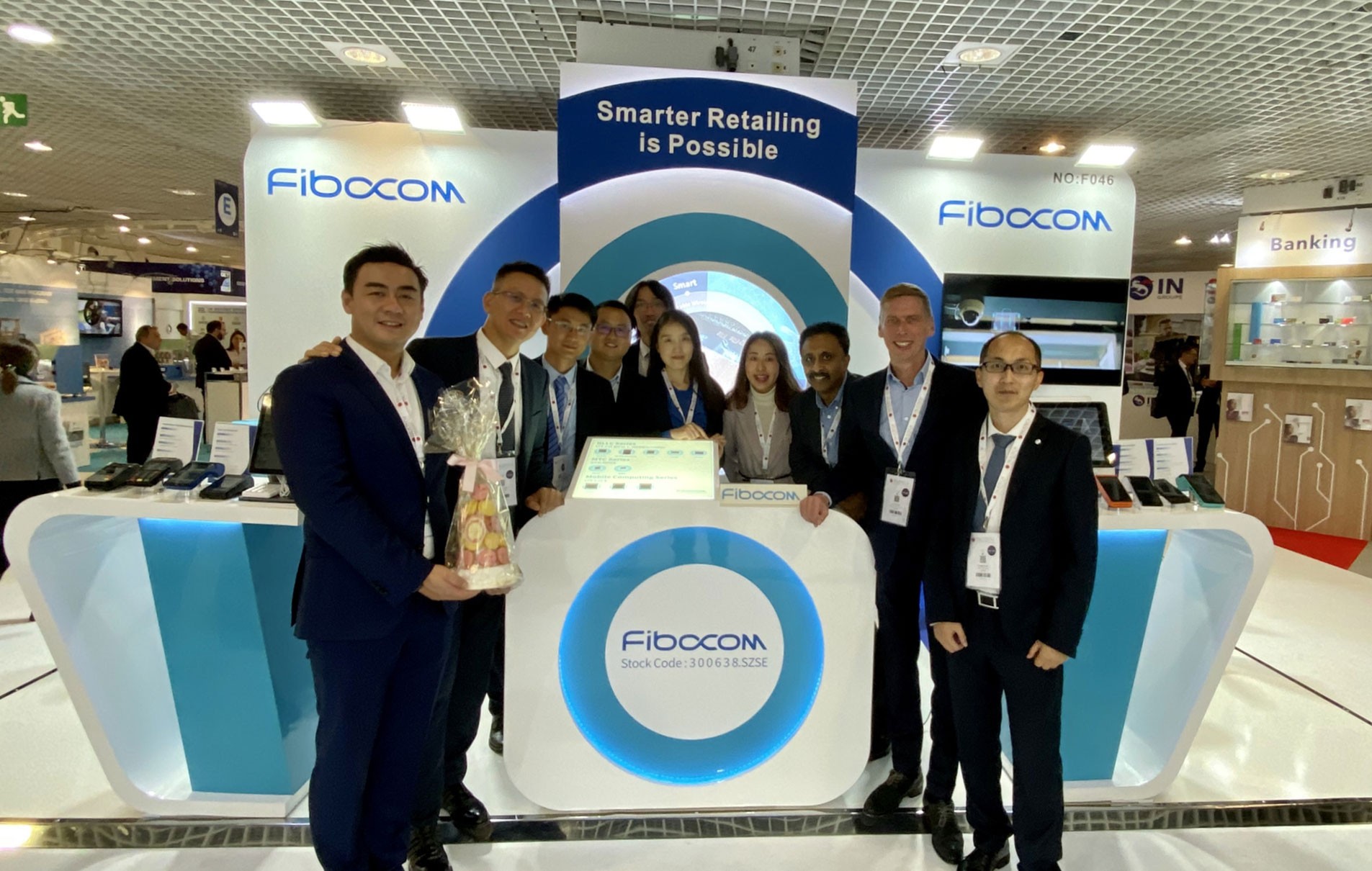 Fibocom is Demonstrating its Smart Point-of-Sale Solution at the Trustech