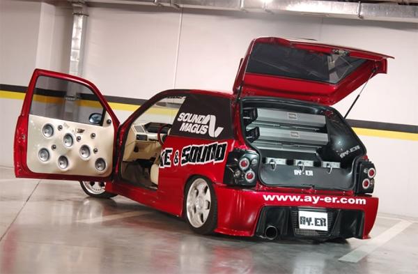 圣美歌功放土耳其展示车