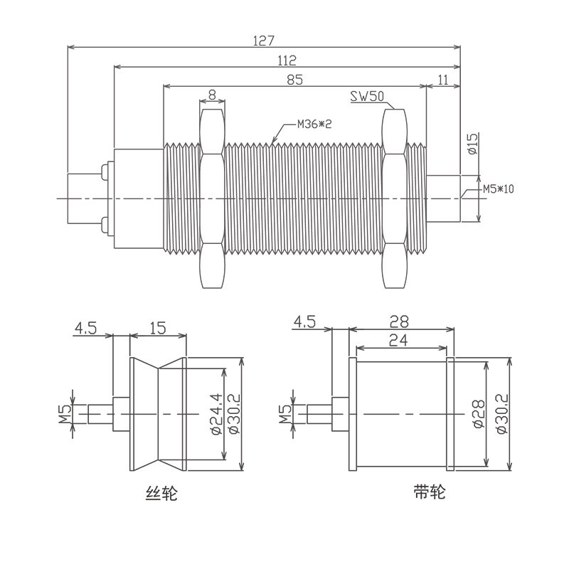 LT系列低张力检测器 (型号:LT)