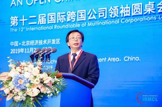杨正位:跨国公司对世界和平健康发展起到更重要作用