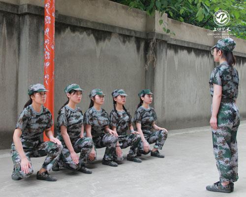 校园环境 | 军训