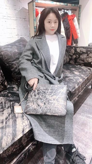 中时海创品牌女装折扣19秋冬【高端欧美双面尼大衣】系列品牌上新