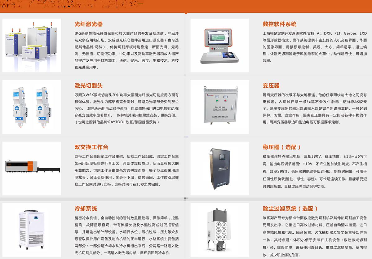 双交换工作台光纤激光切割机SC-FA1000W