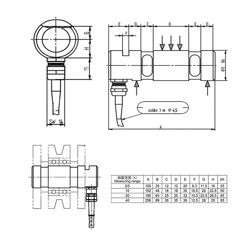 616轴销传感器 (型号:616轴销传感器)