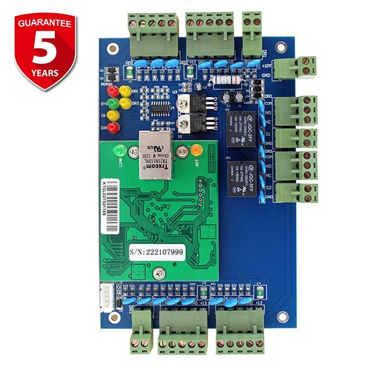 4-Door with One Way Direction TCP//IP Door Access Control Pannel