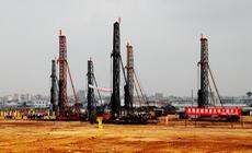 华星光电项目正式打桩建设