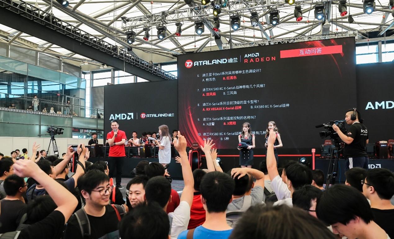CJ完美收官,迪兰惊艳AMD展台