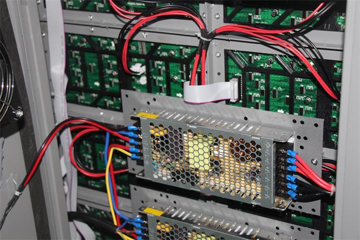 海口LED户外显示屏电源之间2.5平方电缆线100CM(奥马哈)